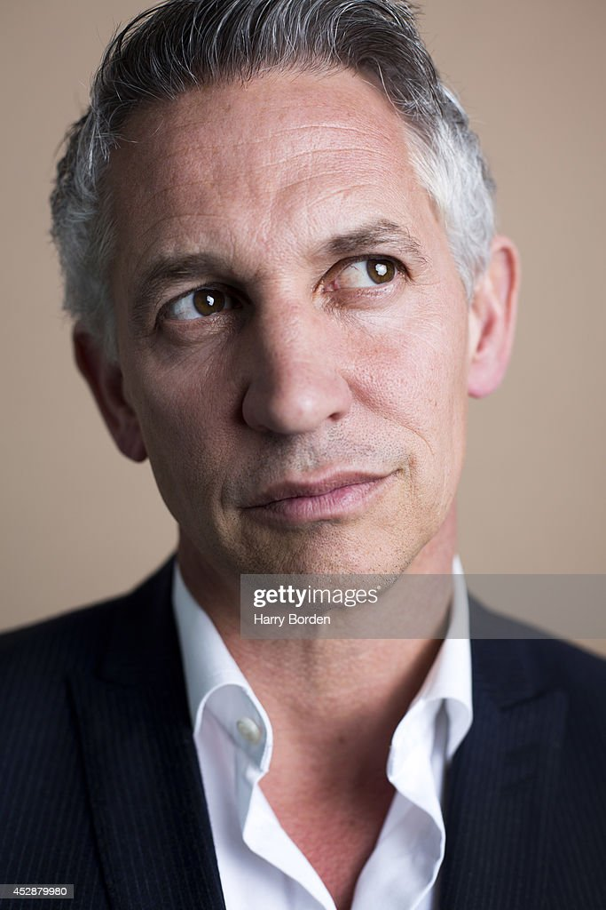 Tv presenter and former professional footballer Gary Lineker is photographed for the Guardian on May 14, 2014 in London, England.