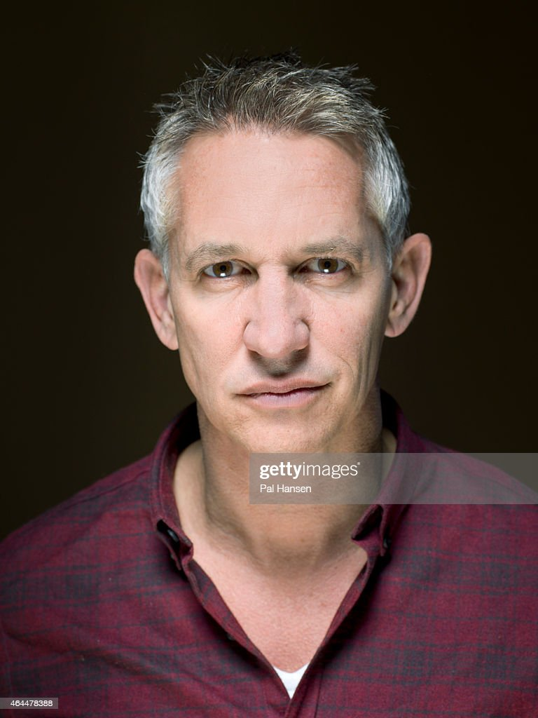 Tv presenter and former professional footballer Gary Lineker is photographed for the Sunday Times magazine on December 3, 2013 in London, England.