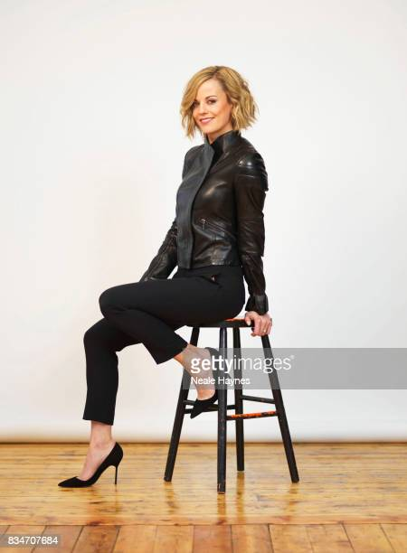 Tv presenter and former racing driver Susie Wolff is photographed for Channel 4 on February 26 2016 in London England