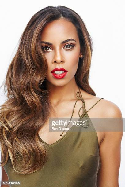Tv presenter and singer Rochelle Humes is photographed for Cosmopolitan Magazine on July 4 2014 in London England