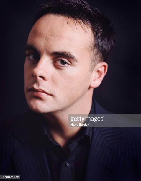 Tv presenter Ant is photographed for Observer on November 11 2002 in London England