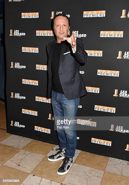 Tv presenter Arthur aka Jacques Essebag attends 'Les Gerard De La Television 2016' Awards Ceremony At Theatre Daunou on May 30 2016 in Paris France