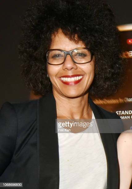 Tv presenter Audrey pulvar attends the 'Mobile Film Festival Stand Up 4 Human Rights Awards' Ceremony Hosted by Youtube Creators For Change at Cinema...