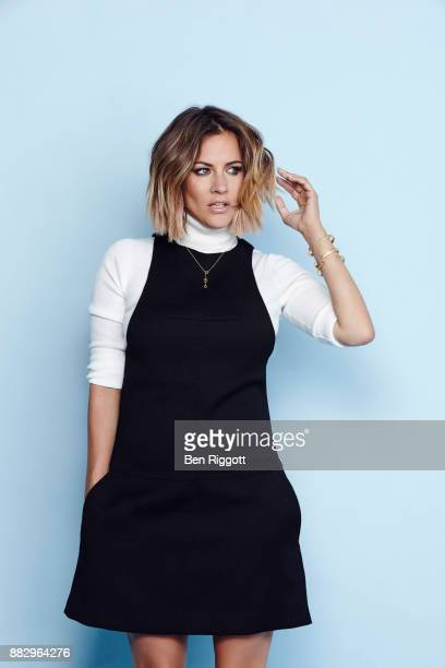 Tv presenter Caroline Flack is photographed for Cosmopolitan Magazine on June 15, 2015 in London, England.