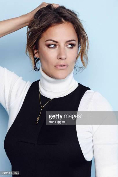 Tv presenter Caroline Flack is photographed for Cosmopolitan Magazine on June 15 2015 in London England