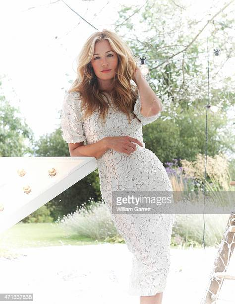 Tv presenter Cat Deeley is photographed for Red magazine on July 30 2012 in London England