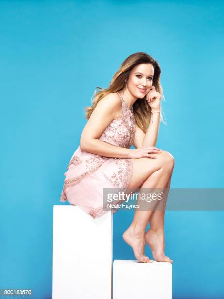 Tv presenter Charlie Webster is photographed for the Daily Mail on January 30 2017 in London England