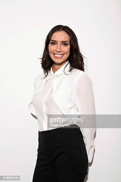 Tv presenter Christine Bleakley is photographed for The Times on March 25 2015 in London England
