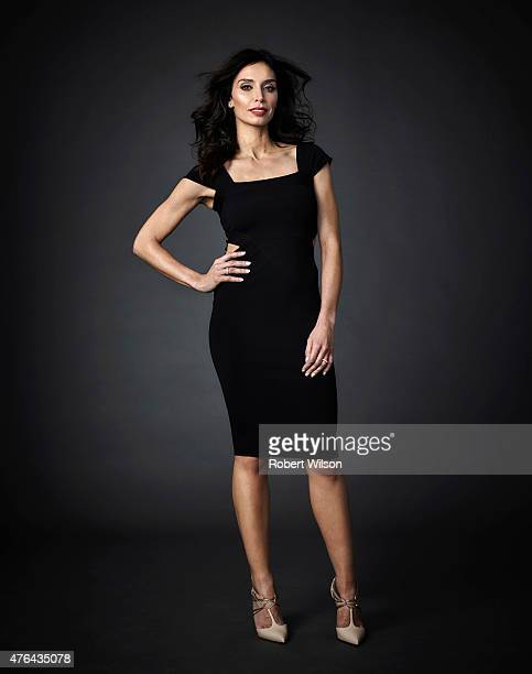 Tv presenter Christine Bleakley is photographed for the Times on January 6 2015 in London England