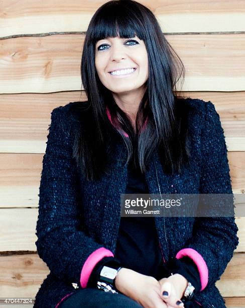 Tv presenter Claudia Winkleman is photographed for Red magazine on April 26 2012 in London England