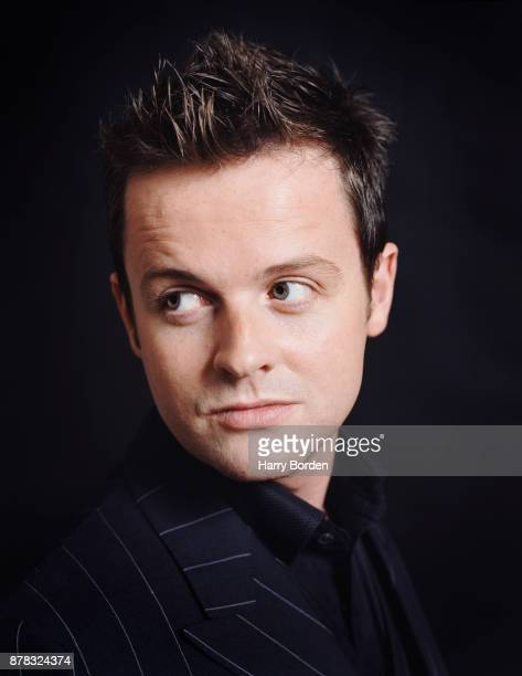 Tv presenter Dec is photographed for Observer on November 11 2002 in London England