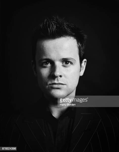 Tv presenter Dec is photographed for Observer on November 11 2002 in London England