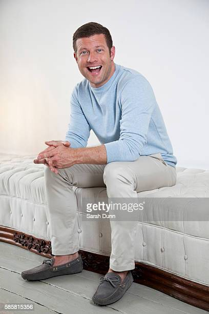 Tv presenter Dermot O'Leary is photographed for the Observer on August 2 2013 in London England