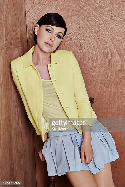 Tv presenter Emma Willis is photographed for the Sunday Mirror on May 12 2014 in London England