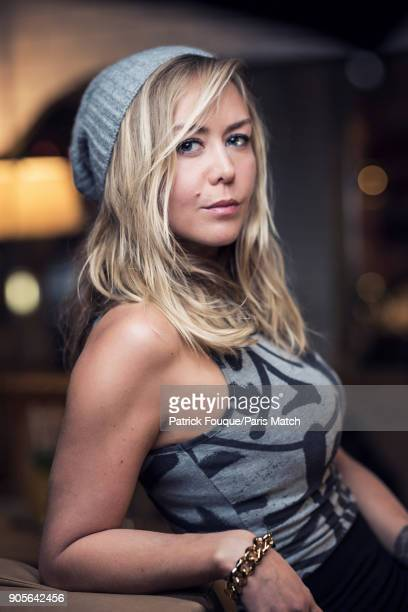 Tv presenter Enora Malagre is photographed for Paris Match on November 13 2017 in Paris France