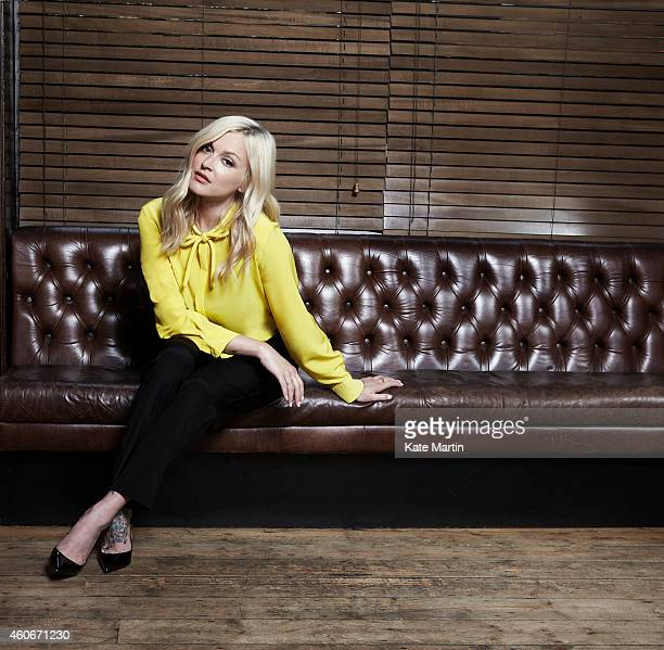 Tv presenter Fearne Cotton is photographed for Grazia on June 11 2013 in London England