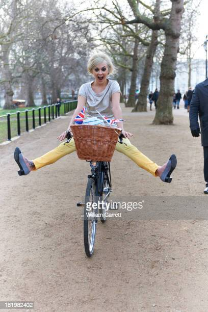 Tv presenter Fearne Cotton is photographed on February 16 2012 in London England