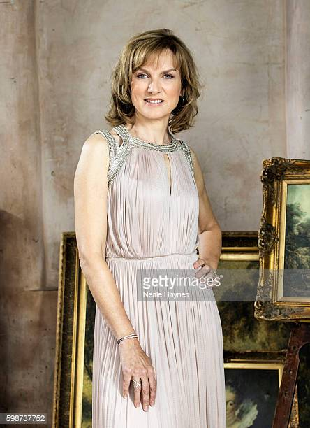 Tv presenter Fiona Bruce is photographed for the Daily Mail on July 5, 2016 in London, England.