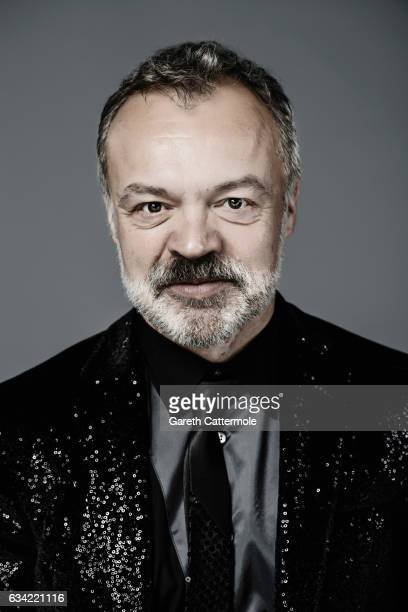 Tv presenter Graham Norton is photographed at the National Television Awards on January 25 2017 in London England
