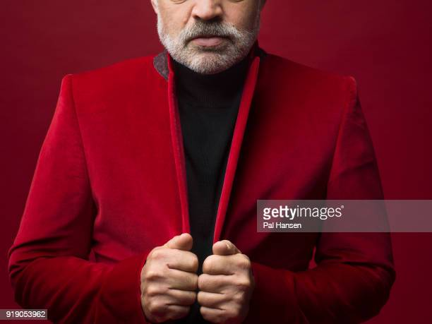 Tv presenter Graham Norton is photographed for the Observer on October 18 2017 in London England