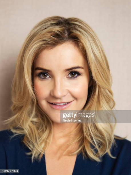 Tv presenter Helen Skelton is photographed for the Daily Mail on January 17 2018 in Kendal England