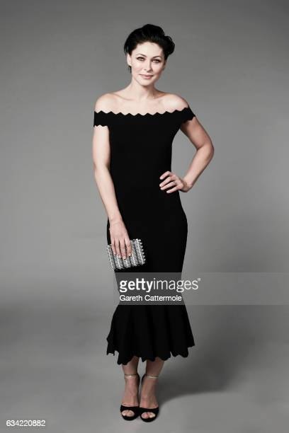 Tv presenter is Emma Willis photographed at the National Television Awards on January 25 2017 in London England