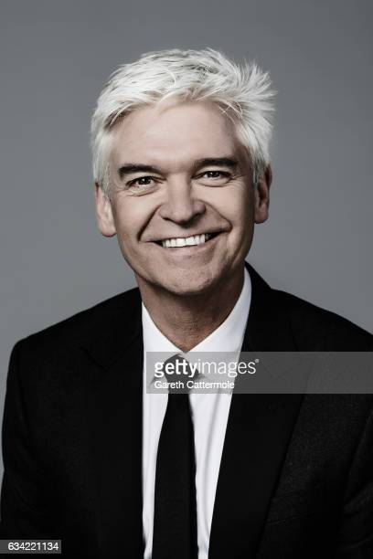 Tv presenter is Phillip Schofield is photographed at the National Television Awards on January 25 2017 in London England