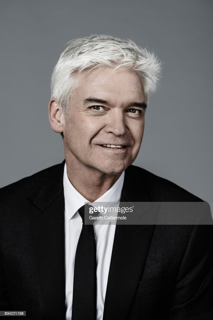 Tv presenter is Phillip Schofield is photographed at the National Television Awards on January 25, 2017 in London, England.