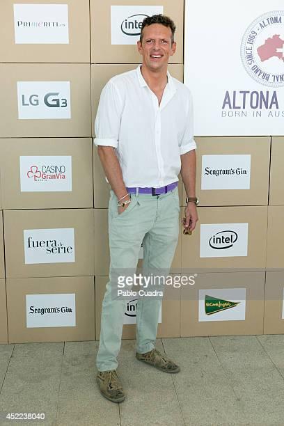 Tv presenter Joaquin Prat attends MFShow Men on July 16 2014 in Madrid Spain