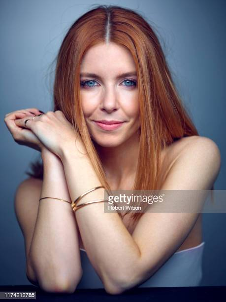 Tv presenter journalist documentary filmmaker media personality and author Stacey Dooley is photographed for the Times magazine on January 4 2019 in...