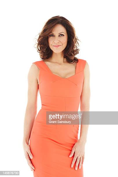 Tv presenter Julia Bradbury is photographed for Good Housekeeping Magazine on November 17 2011 in London England