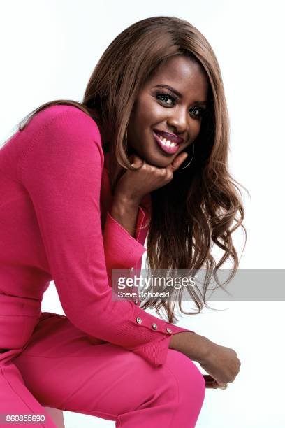 Tv presenter June Sarpong is photographed for You magazine on July 31 2017 in London England