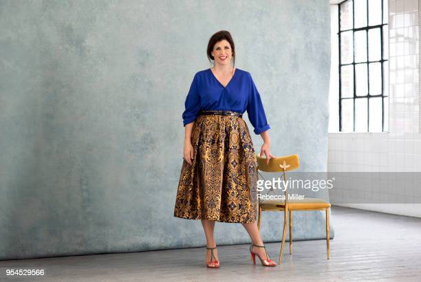 Tv presenter Kirstie Allsopp is photographed for You magazine on July 2 2017 in London England