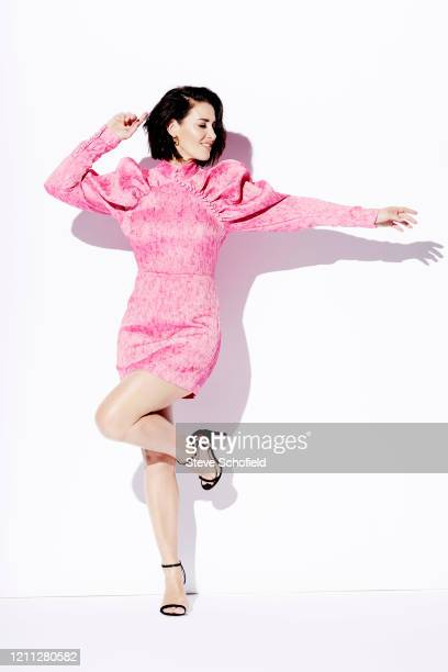 Tv presenter Kirsty Gallacher is photographed for You magazine on October 15 2019 in London England
