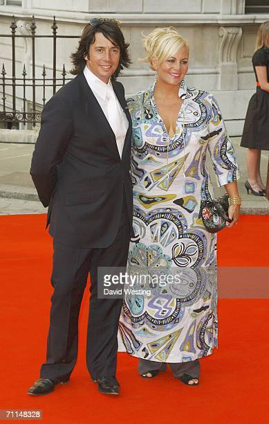Tv presenter Laurence LlewelynBowen and wife Jackie arrive at the 2006 Summer Exhibition Preview Party at the Royal Academy in Piccadilly on June 7...