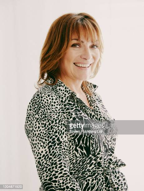 Tv presenter Lorraine Kelly is photographed for Attitude magazine on December 10 2019 in London England