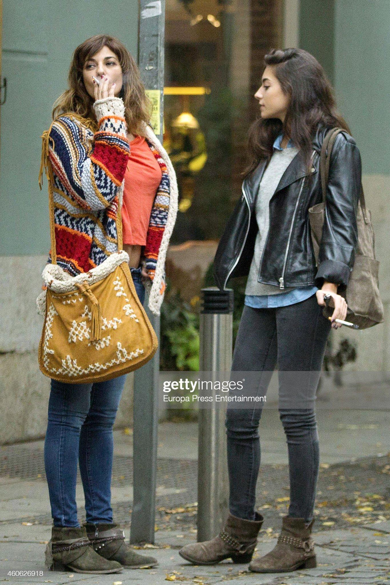 ¿Cuánto mide Mariló Montero? - Altura Tv-presenter-marilo-montero-and-her-daughter-rocio-herrera-are-seen-picture-id460626918?s=2048x2048