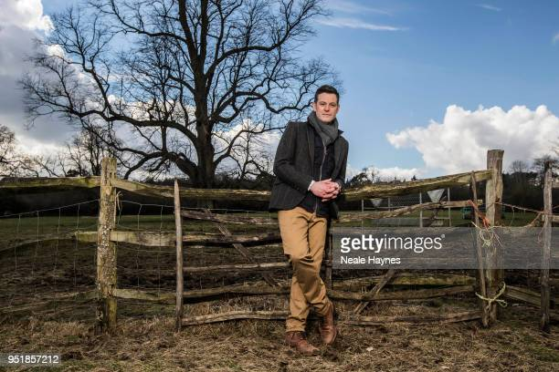 Tv presenter Matt Baker is photographed for Daily Mail on March 7 2018 in Chilton England