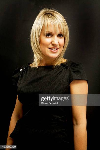 Tv presenter Nicki Chapman is photographed on November 11 2008 in London England
