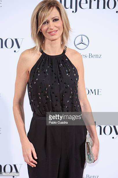 Tv presenter Susana Griso attends 'Mujer Hoy' awards gala at Palace Hotel on December 16 2014 in Madrid Spain