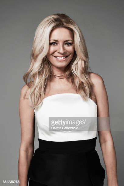 Tv presenter Tess Daly is photographed at the National Television Awards on January 25 2017 in London England