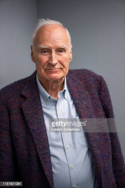 Tv presenter writer and journalist Peter Snow is photographed on May 10 2018 in StratforduponAvon England