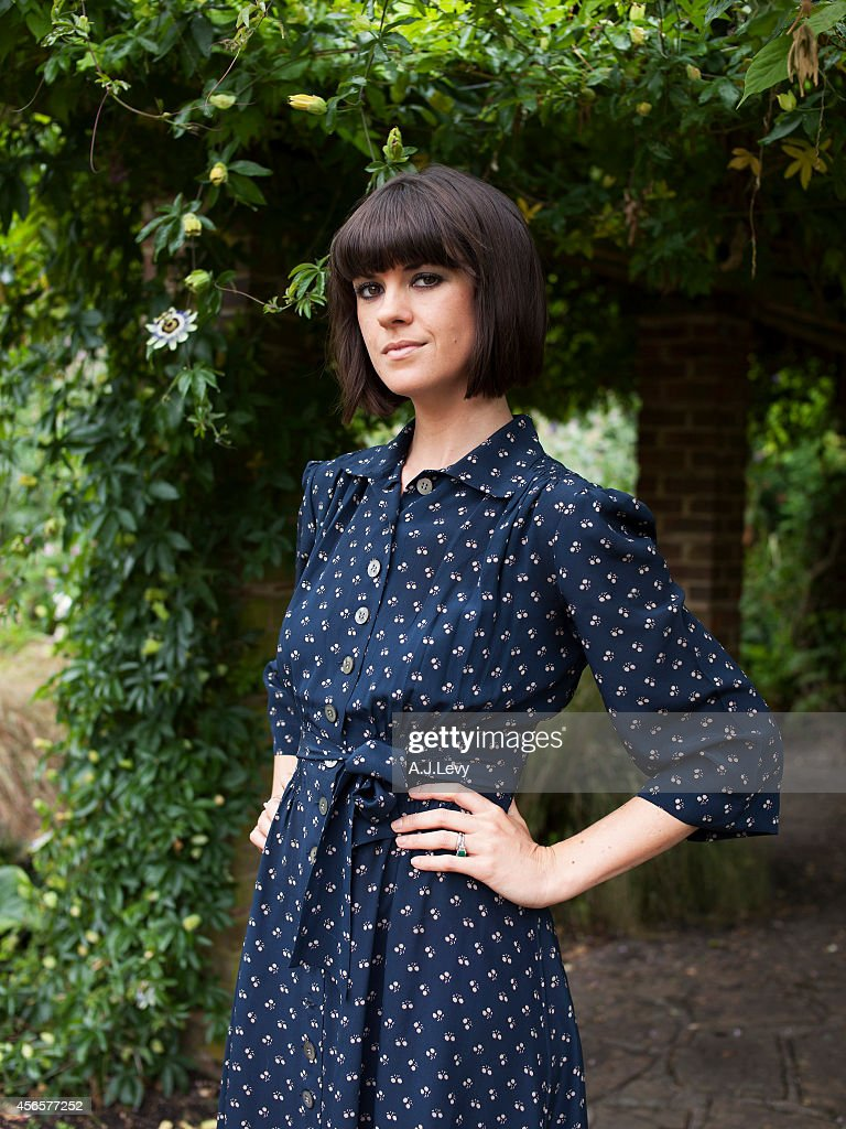 Tv presenter, writer and performer Dawn O'Porter is photographed for the Independent in London, England.