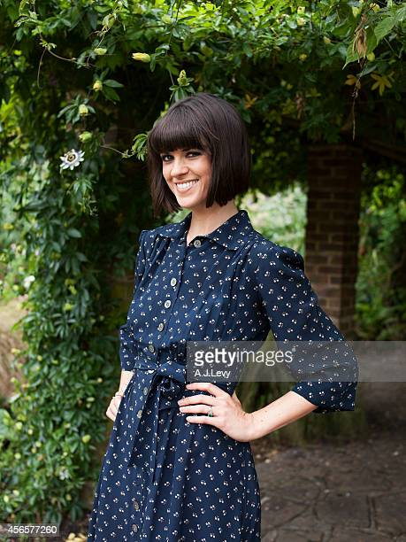 Tv presenter writer and performer Dawn O'Porter is photographed for the Independent in London England