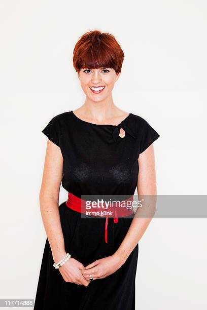 Tv presenter writer and performer Dawn O'Porter is photographed on November 8 2010 in London England