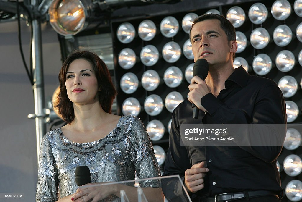 Tv Presenters Olivier Minne And Helena Noguerra Host The France 2 News Photo Getty Images