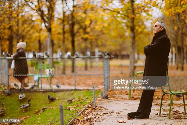 Tv producer and presenter Thierry Ardisson is photographed for Paris Match on November 14 2016 in Paris France