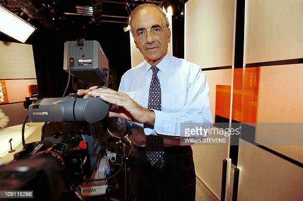 Tv 'Public Senat' Inauguration On May 25Th 2000 In Paris France JeanPierre Elkabbach
