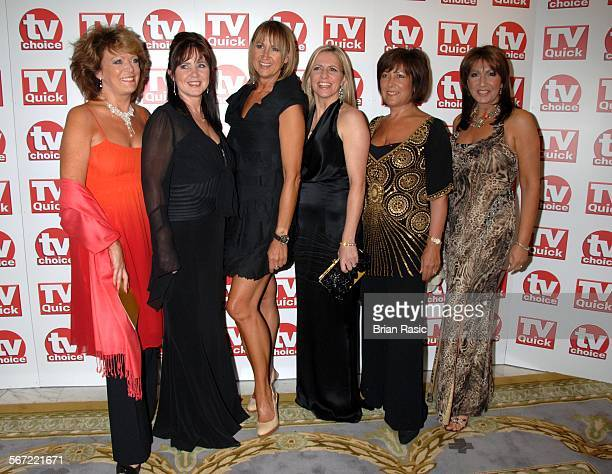 Tv Quick And Tv Choice Awards At The Dorchester Hotel, London, Britain - 03 Sep 2007, Loose Women Stars - Sherrie Hewson, Coleen Nolan, Carol...