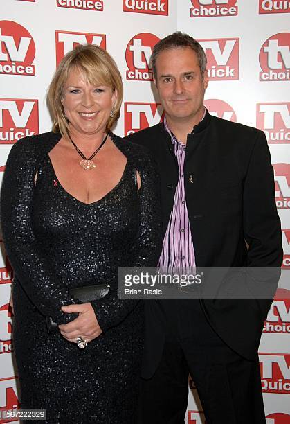 Tv Quick And Tv Choice Awards At The Dorchester Hotel London Britain 03 Sep 2007 Fern Britton And Phil Vickery